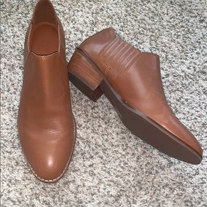 Coach Leather Ankle Booties size 7B